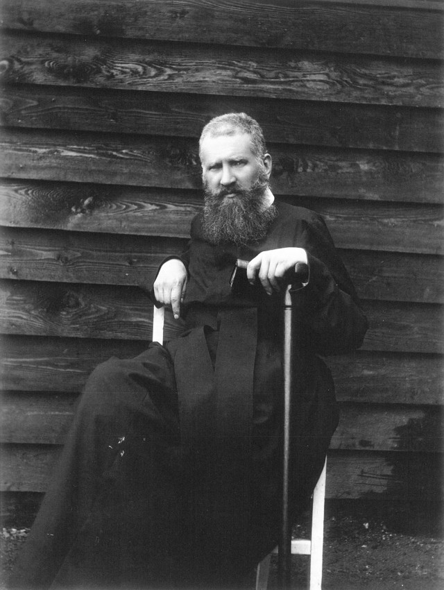 Metropolitan Andrey Sheptytskyi after his return from Russian captivity in 1917.