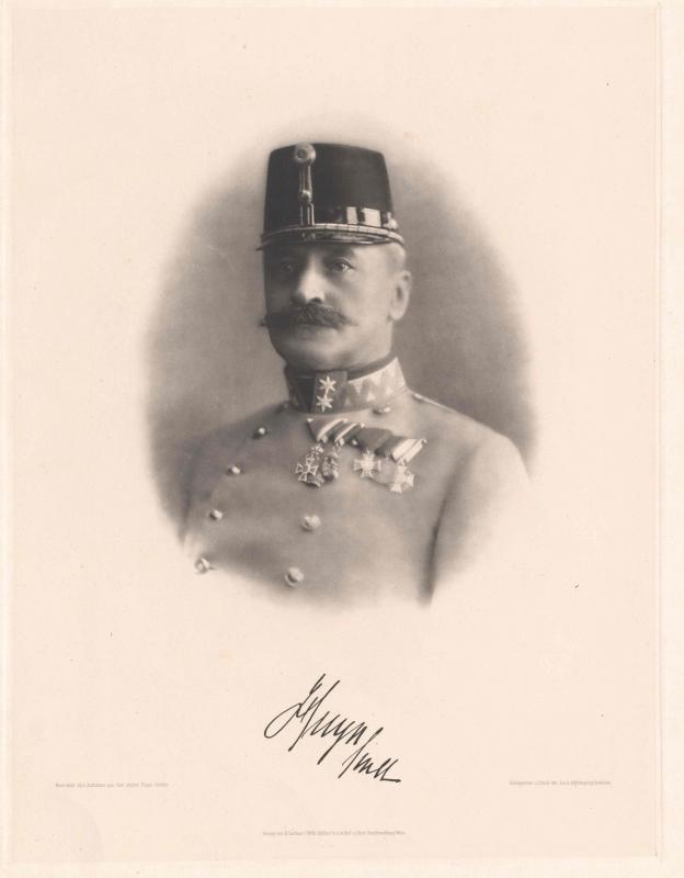 Намісник Карл фон Гуйн. Джерело: Австрійський національний архів