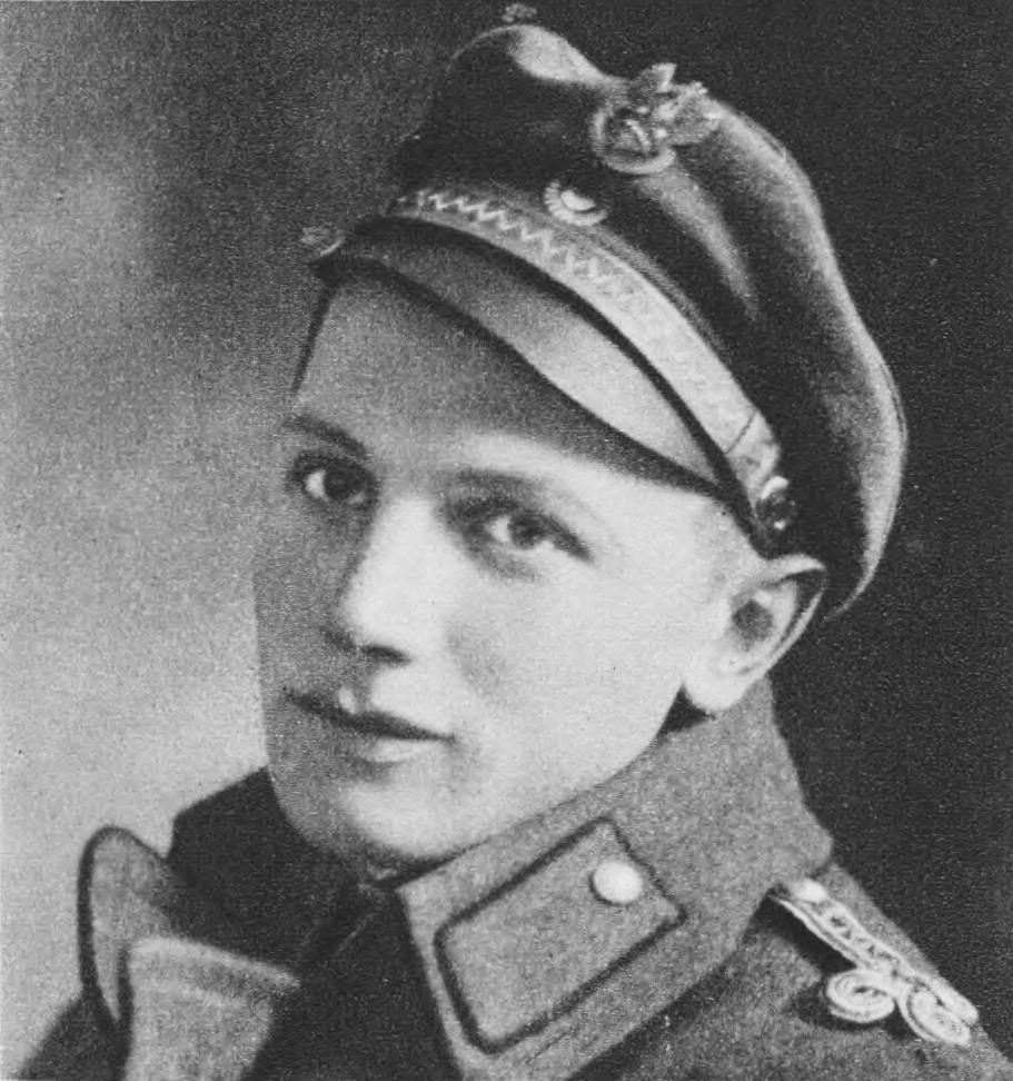 Porucznik Ludwik de Laveaux, przedstawiciel Naczelnej Komendy Wojsk Polskich, który podpisał ugodę.
