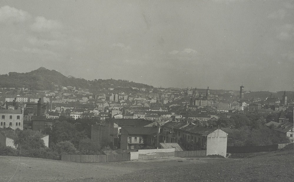 View of the city from the Stracenia Mount, 1920s