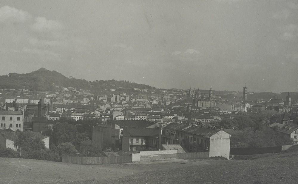 Вид на місто із гори Страчення, 1920-ті роки