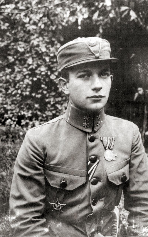 Старшина Осип Букшований під час Першої світової війни.