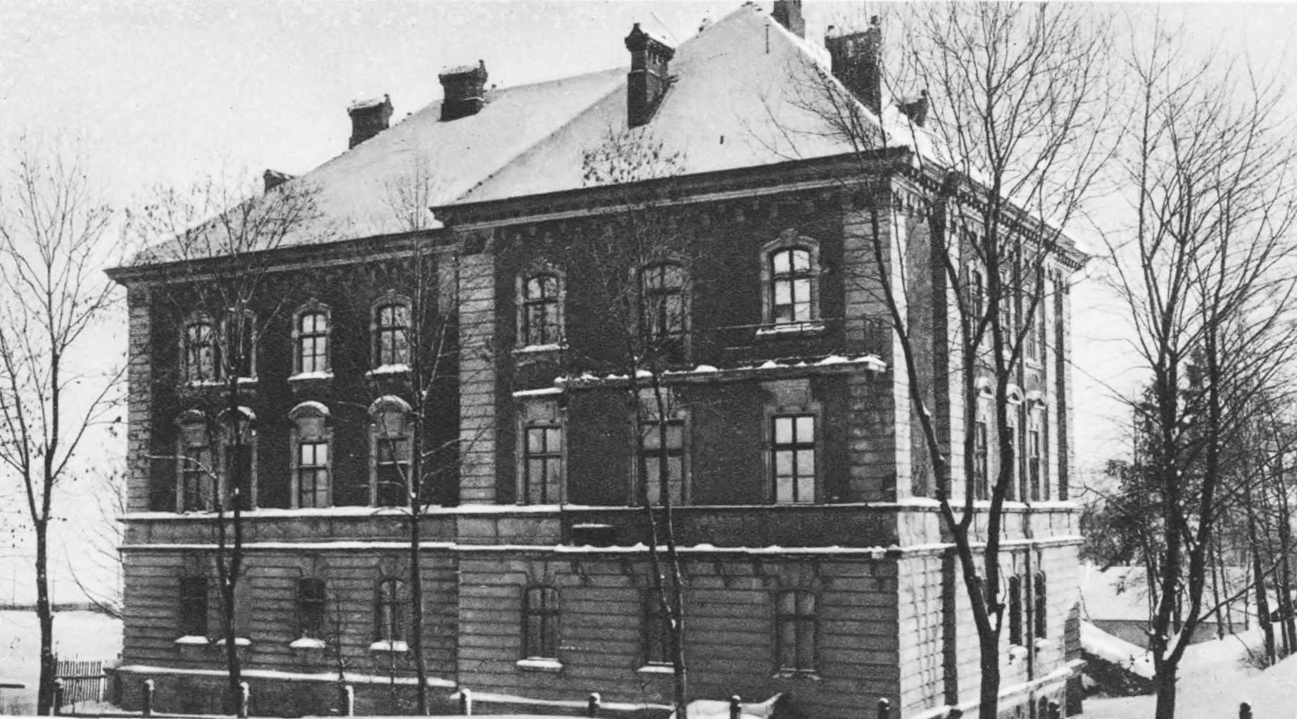 """""""Dom techników"""" (Technician's House). Source: Semper Fidelis, 1930"""