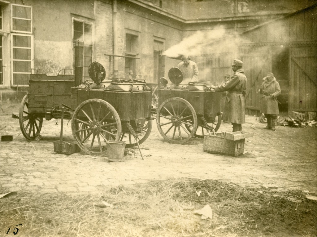 Carts, used to transport the food. From the collection of Stepan Hayduchok