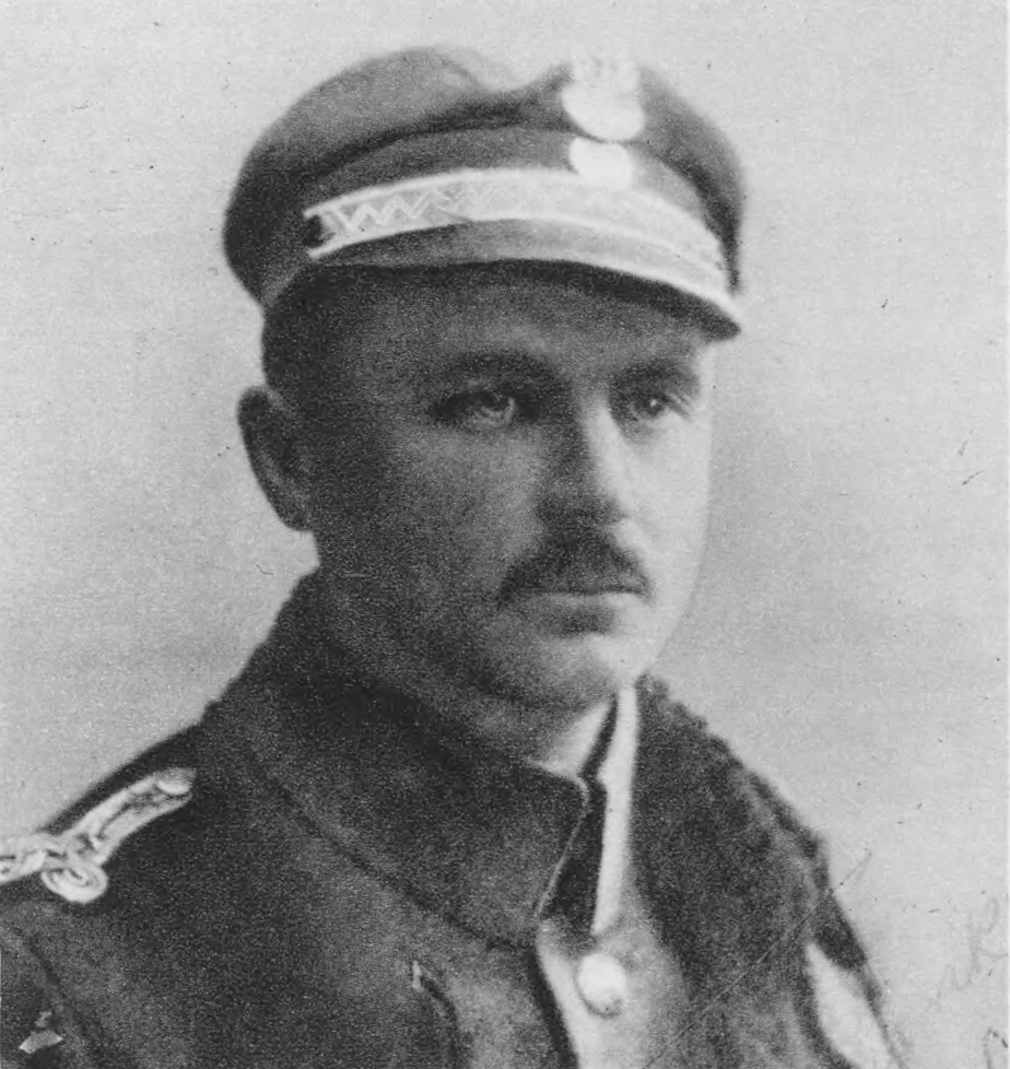 Wit Sulimirski, leader of the Municipal Public Guard. Source: Semper Fidelis, 1930