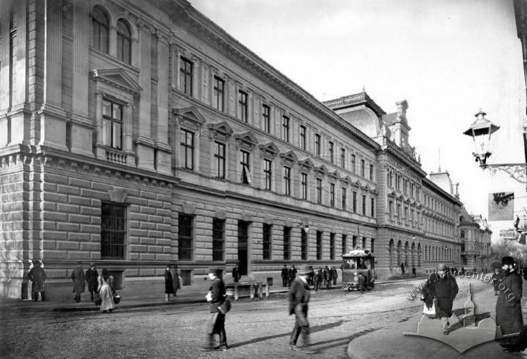 Main Post Office building before the war