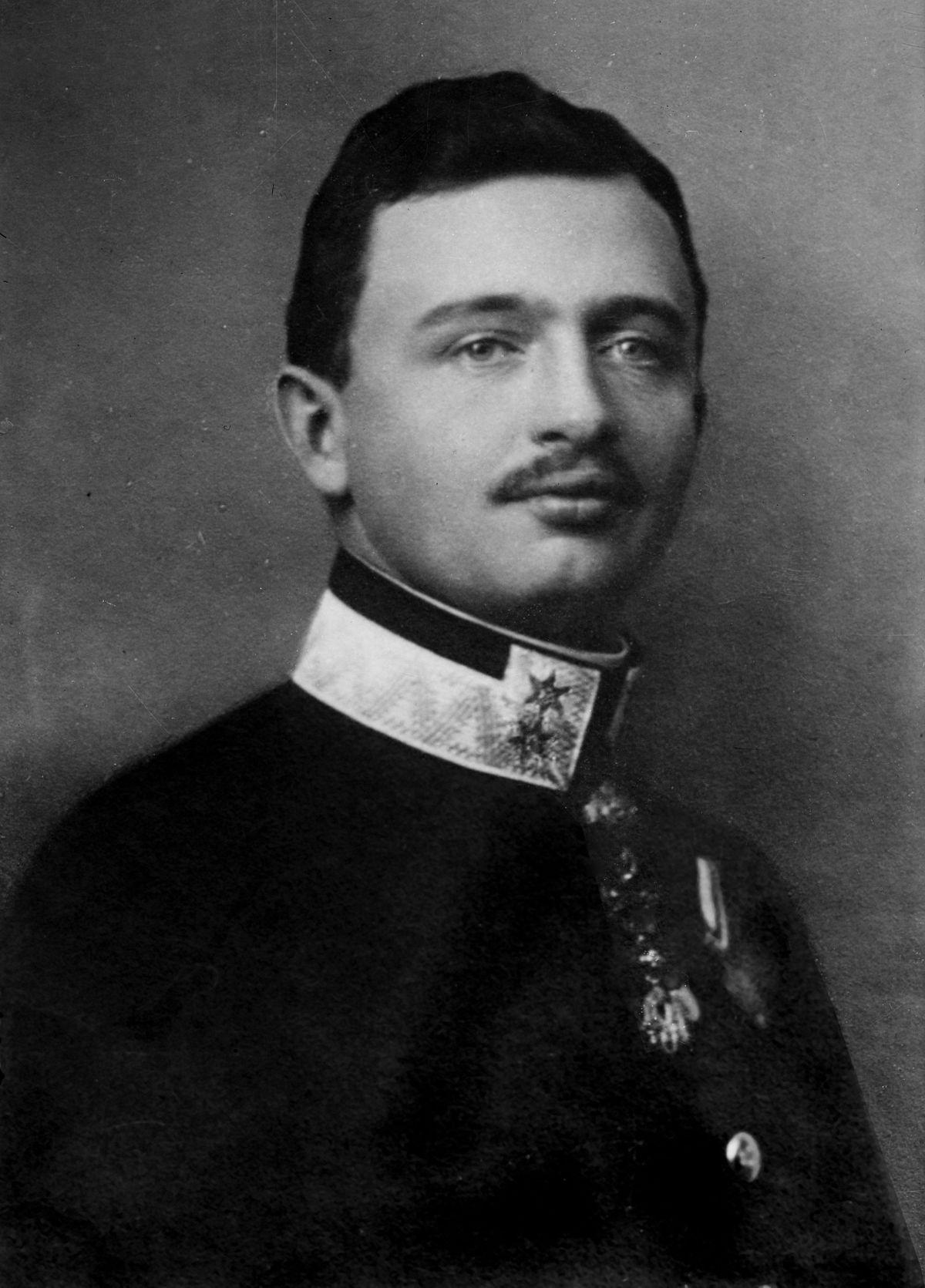 The last Habsburg emperor Charles I.