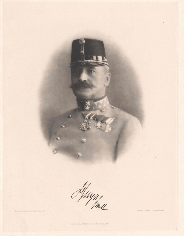 Galician Governor Karl von Huyn. Source: Austrian National Archive