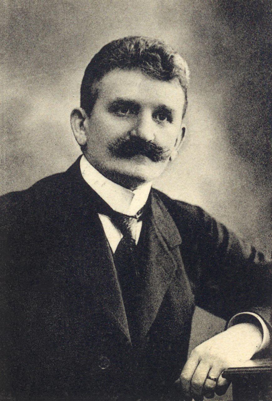 The Head of the Ukrainian National Council, Yevhen Petrushevych (Jewhen Petruszewicz)